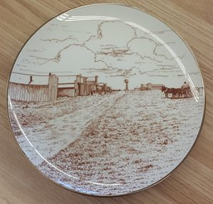 Historical Society Plate